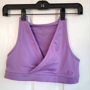 Mika Sports Bra Purple Size Large